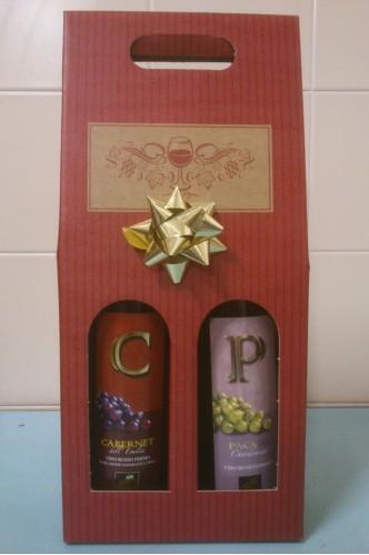Confezione Regalo color Rosso - Vini Emilia Romagna